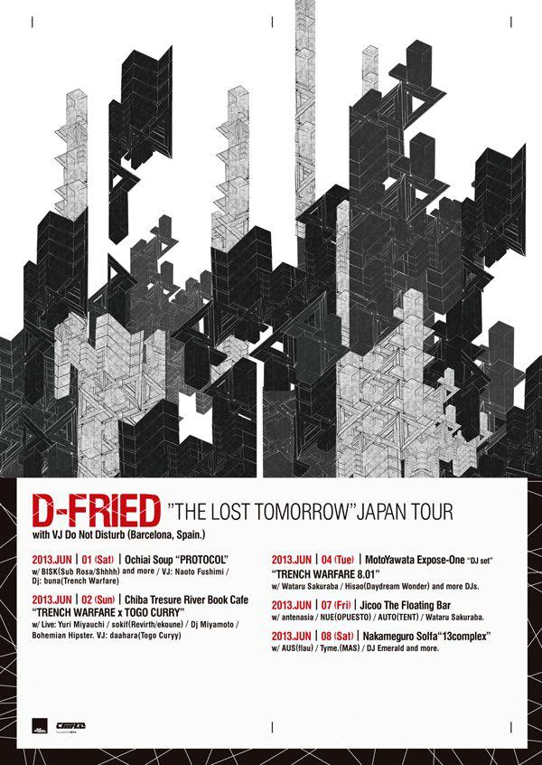 japan tour Dfried (The lost Tomorrow)